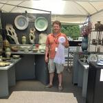 BEST BOOTH BOOTH: 24		 NAME: Brian Evans, Ceramics